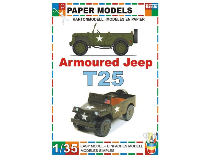 armoured Jeep T-26