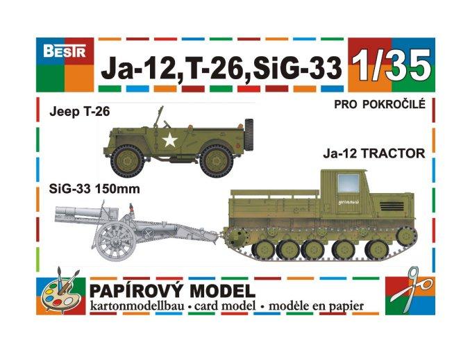Ja-12 + T-26 + SiG-33