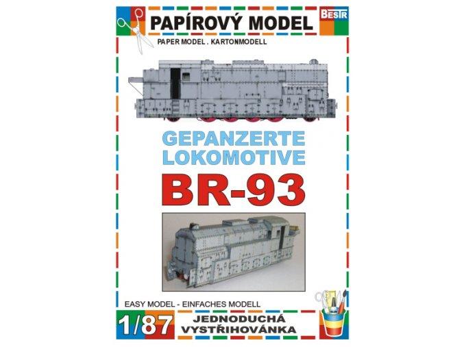 BR 93 - Gepanzerte lokomotive
