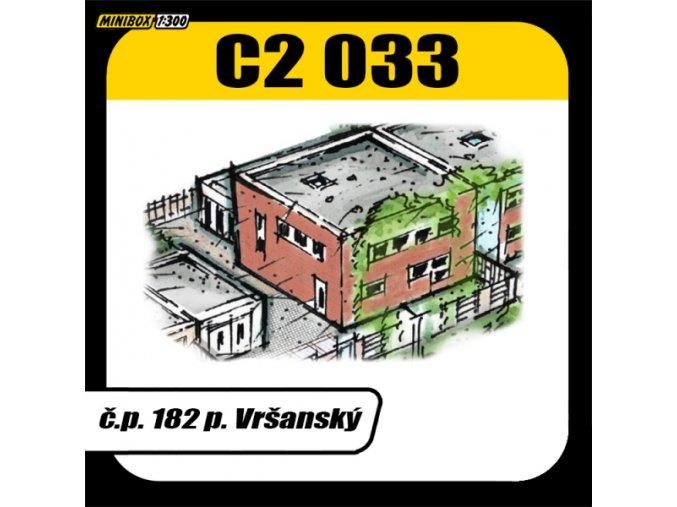 č.p. 182 p. Vršanský, Březová ulice