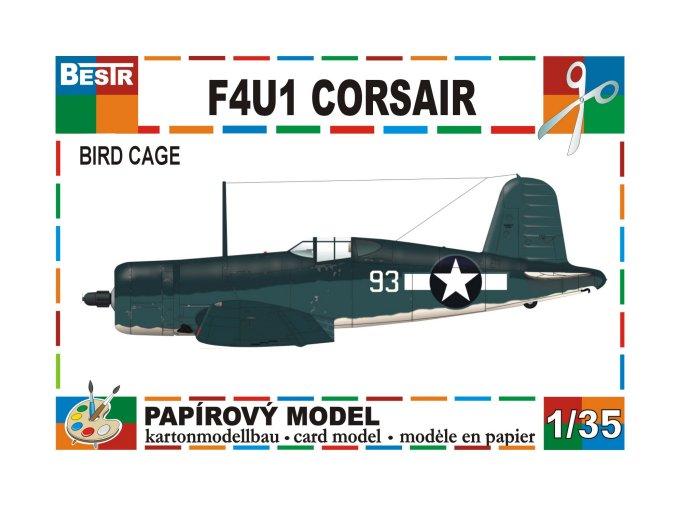 F4U1 Corsair - Bird Cage