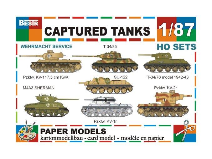 Captured tanks - Wehrmacht - kořistní technika