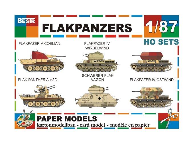 Flakpanzers - protiletadlové tanky
