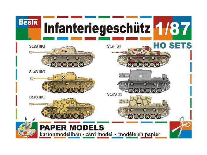 Infanteriegeschütz - pěchotní zbraně