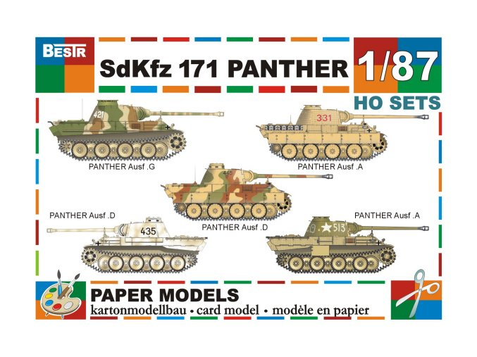 SdKfz 171 Panther (5 ks)