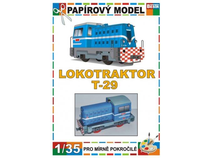 T 29 - úzkorozchodná dieselová lokomotiva