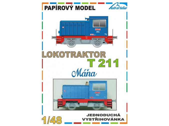 lokotraktor T 211 - Máňa