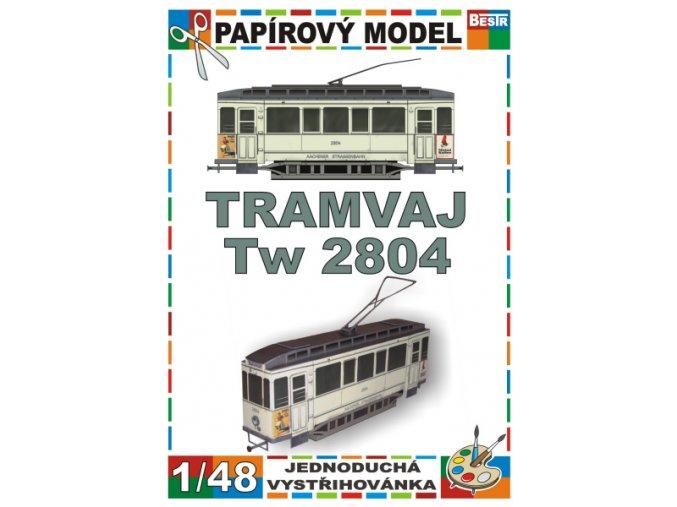 tramvaj Tw 2804