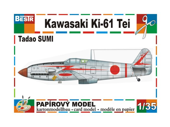 Kawasaki Ki-61 Tei - Tadao Sumi
