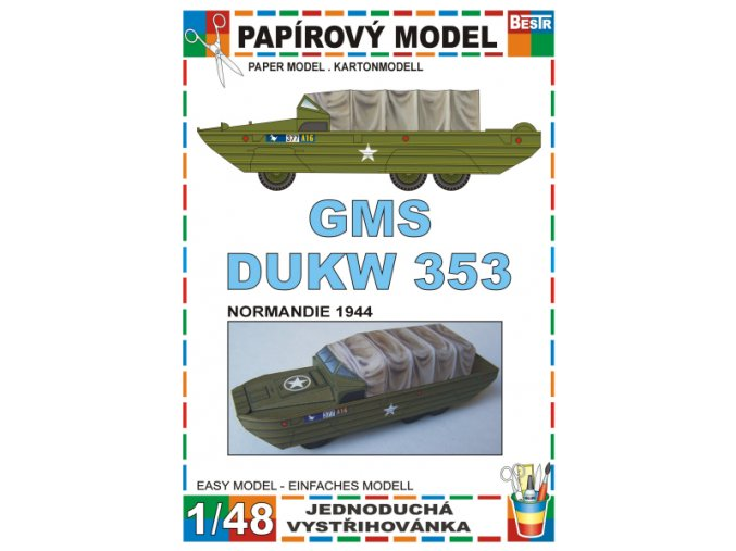 GMS DUKW 353 - Normandie 1944
