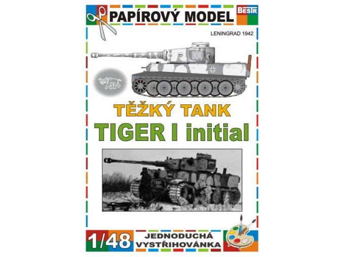 Tiger I initial - Leningrad 1942 - zimní verze