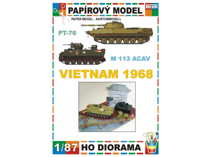 Vietnam 1968 - PT-76, M 113 ACAV