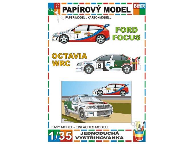 Ford Focus + Škoda Octavia WRC