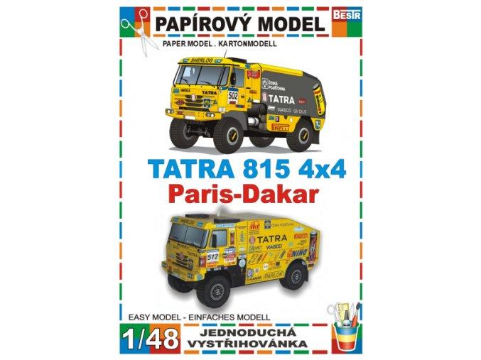 Tatra 815 4x4 Paris-Dakar