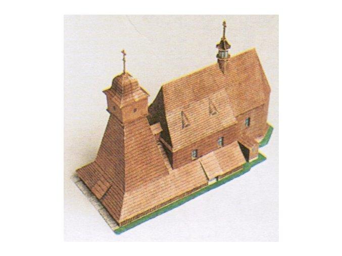 kostelík z Ostravy-Hrabové