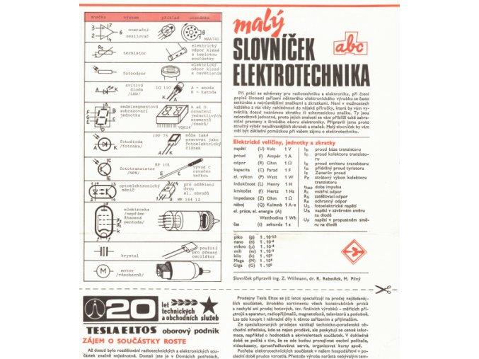 Malý slovníček elektrotechnika