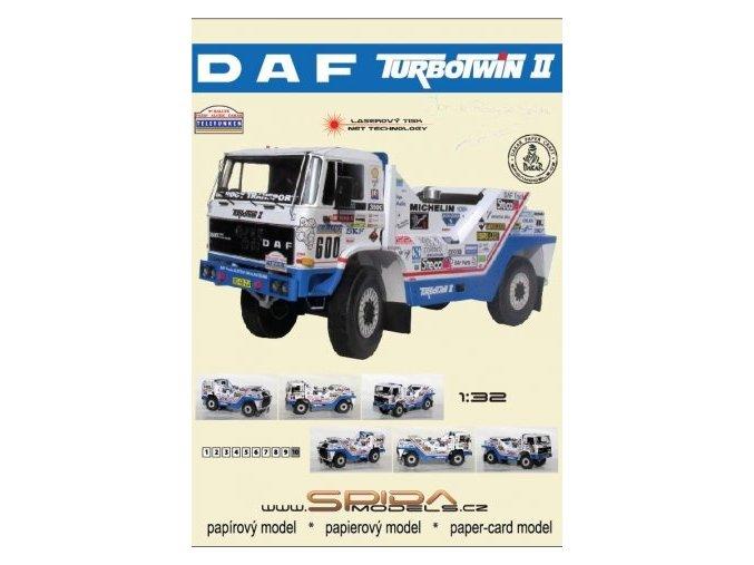 DAF TURBOTWIN II - Rallye Dakar 1987 [600]
