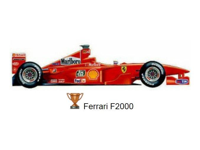 Ferrari F 2000 - 2000