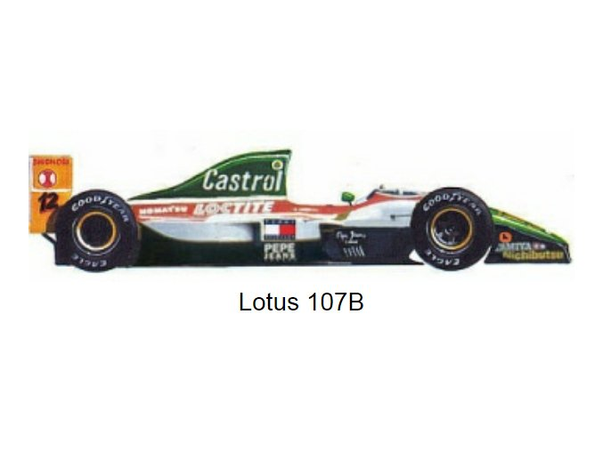 Lotus 107B - GP Monaco 1993