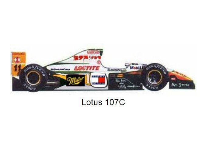 Lotus 107C - GP Pacific 1994