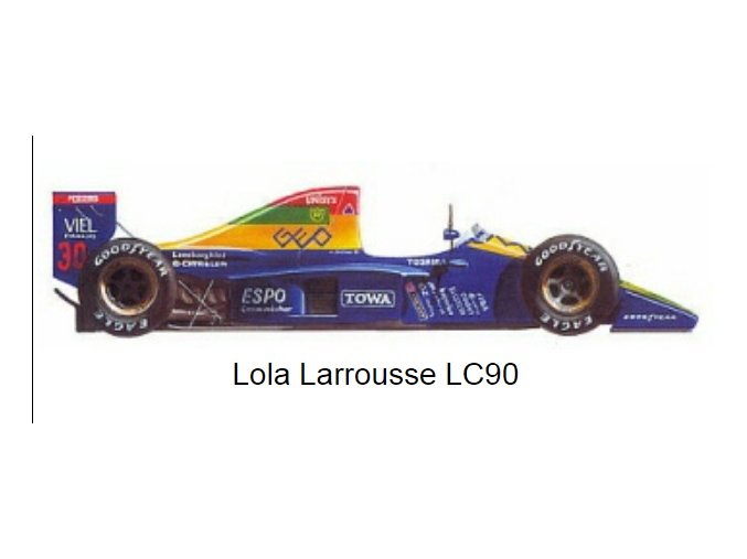 Lola Larrouse LC-90 - GP Japan 1990