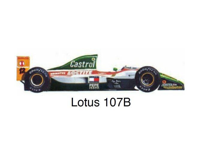 Lotus 107B - GP Portugal 1993