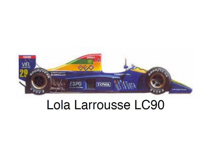 Lola Larrousse LC-90 - GP Great Britain 1990