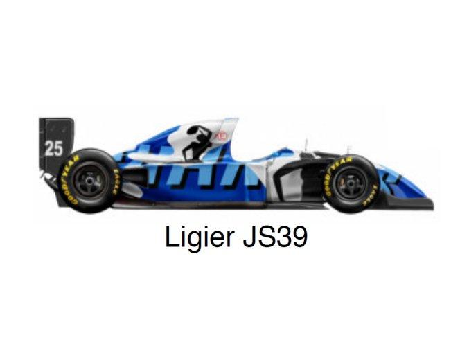 Ligier JS39 - GP Japan 1993