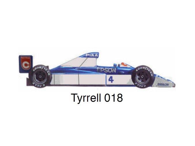 Tyrrell 018 - GP USA 1990