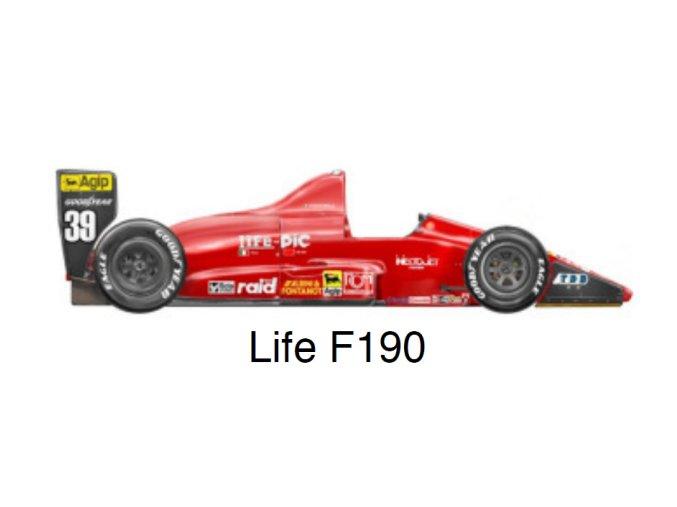 Life F190 - GP Hungary 1990