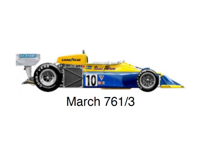 March 761 - GP Great Britain 1976