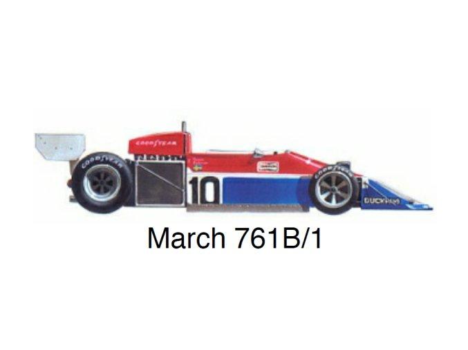 March 761B/1 - GP Germany 1977