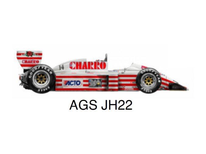 AGS JH22 - GP Mexico 1987