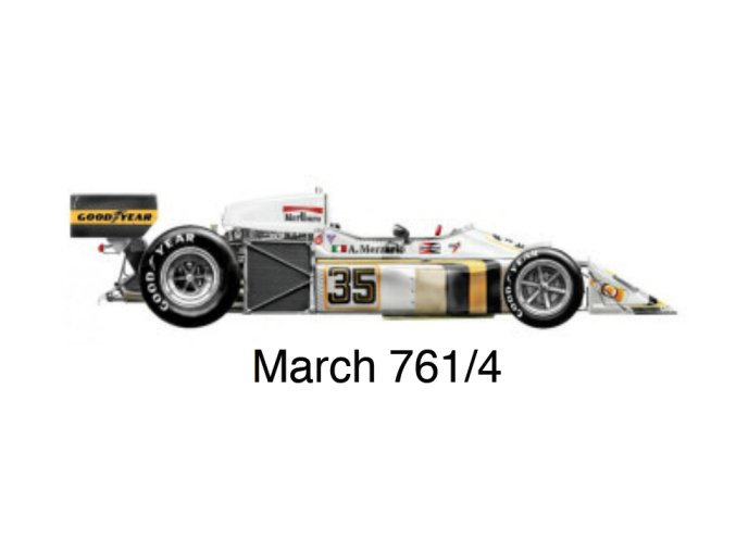 March 761/4 - GP France 1976