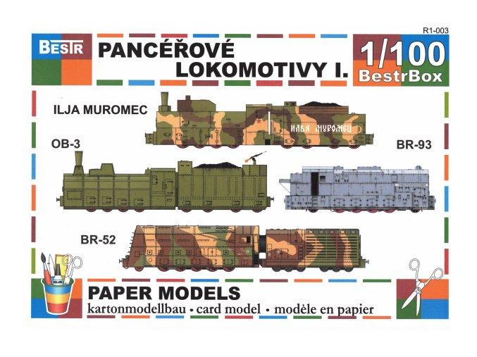 pancéřové lokomotivy