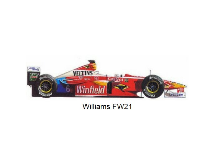 Williams Supertec FW 21 - 1999