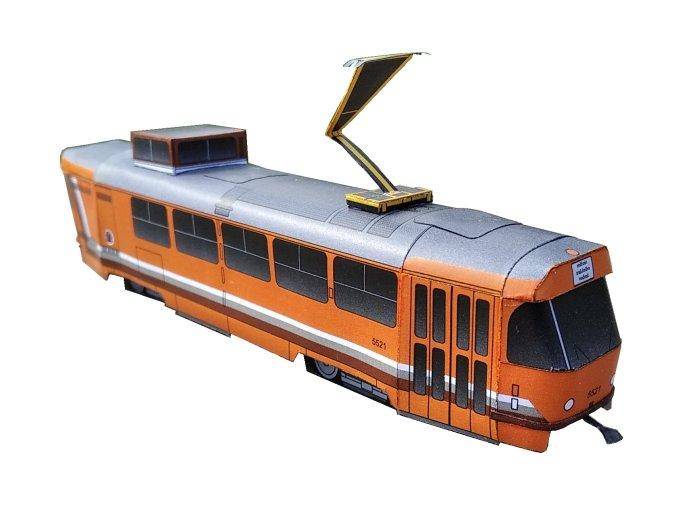"""ČKD Tatra T3M - měřicí vůz """"Pomeranč"""""""