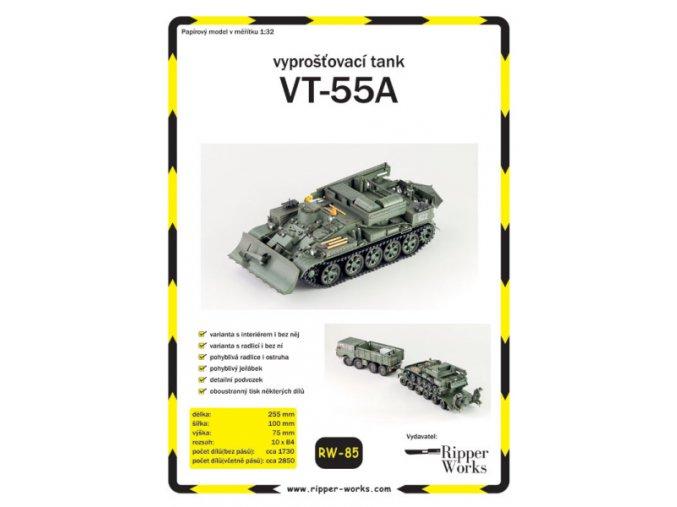 VT-55A - vyprošťovací tank