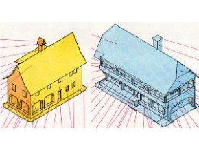 lidové stavby ze severočeské oblasti