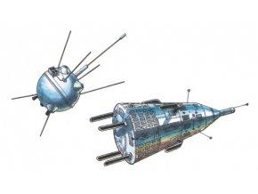 Luna 1 + Sputnik 3