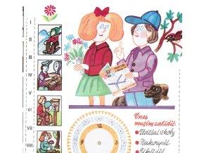 otočný kalendář Pionýrský rok