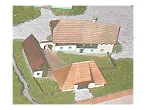 špýcharový dvorec z Pošumaví