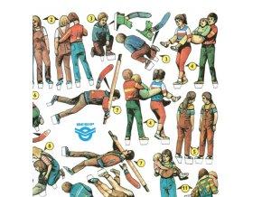 figurky k autodráze - cvičení první pomoci