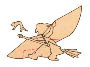 čarodějnice na koštěti