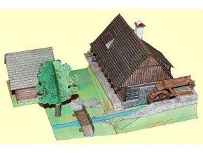 vodní mlýn z Veselého kopce
