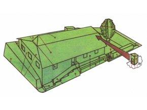 dřevěný domek z Trutnova