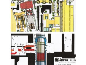 Primární okruh jaderné elektrárny s VVER 440