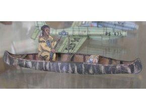 lovecká kanoe Algonkinů