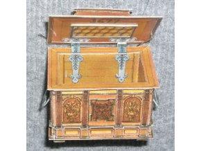 cechovní truhla z r. 1677