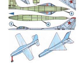 Thunderjet XP-84, Suchoj SU-9
